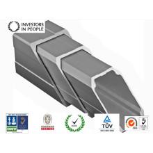 Profil d'extrusion en aluminium / aluminium du train