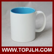 Hot Selling Blank Coated 11oz Inner Colorful Mug
