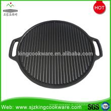 Churrasqueira a carvão de ferro fundido portátil