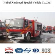 6ton Isuzu Fvr Water Fire Truck Euro3