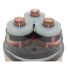 36-500kv Cu / Al XLPE Cable de alimentación aislado