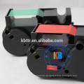 Cartucho de tinta verde da impressão da fita do verde da máquina de franchising de FP T1000