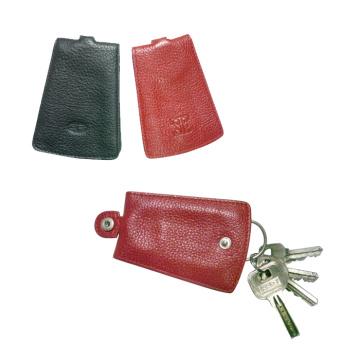 Подлинная кожа Key Holder, Keycase (EY-001), Keypouch, брелок