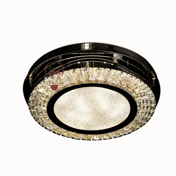 LED crystal modern lighting fixture