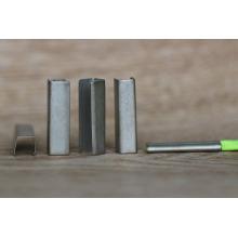 Promocionais de metal personalizado cadarço dicas / clip de cabo de metal para rendas e cinto