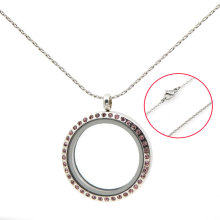 New design antique stainless steel 18''+2''silver chain necklace jewelry for men and women