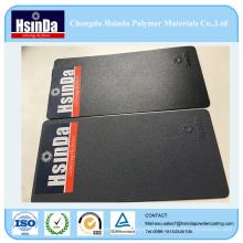 Revêtement de poudre métallique brillant de résine de polyester époxyde