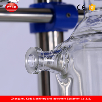 Zzkd 1L-100L Lab Double-Layer Jacketed Glass Reactor