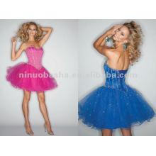 NY-2362 Eye-catching Organza kurze Quinceanera Kleid