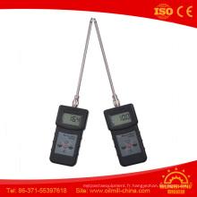 Testeur d'humidité de sol de analyseur d'humidité de poudre chimique de Ms350
