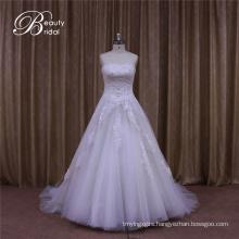 Sweetheart Fishtail Arabic Wedding Dress