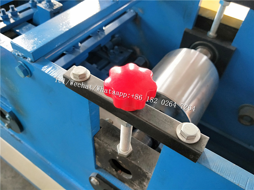 U Shape Guide Rail Roll Forming Machine