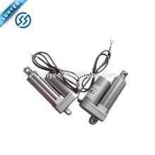 Atuador linear elétrico impermeável da engrenagem 12v do metal IP65 mini