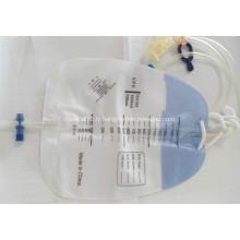 Sac de collecte d'urine stérile avec accessoires Luer Lock