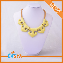 New Design Yellow Necklace Chunky Necklace Beautiful Yellow Necklace