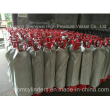 35L Acetylene Cylinders with Cylinder Safety Valve Guards
