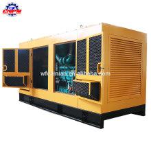 Gerador movido a água gerador diesel silencioso da venda / 1000KVA