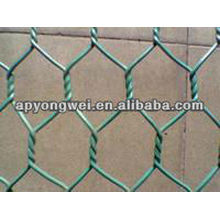 PVC hexagonal iron wire mesh