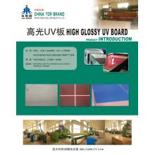 MDF UV de alto brilho