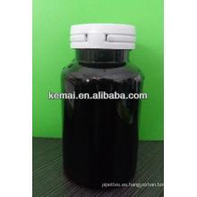Botella plástica del arma de masticación con el casquillo del rasgón