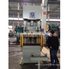 JH21-100 ton manual de metal de hoja de perforación de la máquina