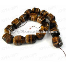 Donut Shaped tigereye stone beads