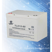 Rechargeable Sealed Maintenance Free Lead Acid Battery 12V80ah Deep Cycle Battery for Outdoor Equipment