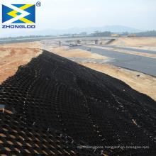 Road reinforcement  HDPE/PP Plastic Geocell soil gravel stabilizer Price