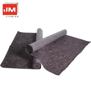 atmungsaktive Vliesstoff 220gsm Vliesstoffe Polyester dicken Filz schwarz pe Film