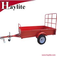 6х4 небольшой подержанных грузовых прицепов коробка с порошковым покрытием поверхности