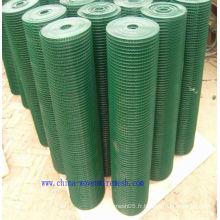 Maille PVCwire, maillage métallique en PVC