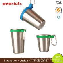 2015 Wholesale Stainless Steel Beer Mug With Handle
