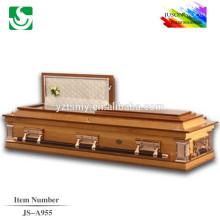 JS-A955 atacado melhor preço as cores do caixão caixão