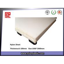 Nylon Polyamid PA6 Blatt mit guter Abriebfestigkeit