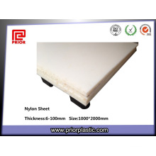 Nylon Polyamide PA6 Sheet with Good Abrasion Resistant