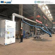Coletor de poeira do filtro de cartucho central de máquinas