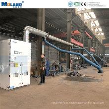 Colector de polvo de filtro de cartucho de maquinaria central