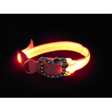 China wholesale led small pet dog collar rechargeable