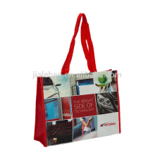 100% Recycled pp mat lamination woven shopping carry carreful bags