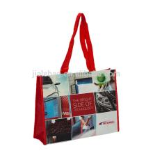 100% Рециркулированные PP слоение циновки сплетенные хозяйственные сумки нести carreful