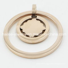 Wholesale Stainless Steel Plated Rose Gold Pendant