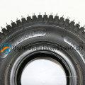 Roda 4.10 / 3.50-4 pneumática para vagões