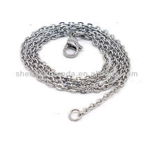 Wholesale manufacture cheap Classics never fade stainless steel men's women's chains necklace jewellery from korea