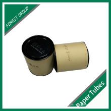 Recycling-Lebensmittel-Zylinder-Papier-Tube mit Cap