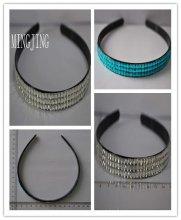 MJ-D-75 Rhinestone hair bands/handmade hairband