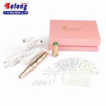 Solong EM804 stylo permanent temporaire de sourcil de maquillage permanent avec la machine professionnelle de tatouage de batterie