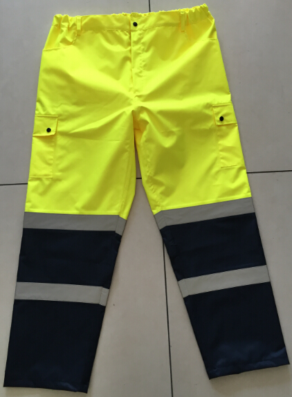Rain Trousers Waterproof Reflective Trousers
