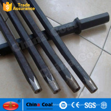 Shandong China Coal Group B22 Tapered Rock Drill Steel Rod Connected With Button Bits