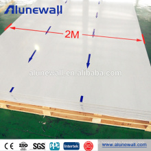Alunewall 2 width Exterior Prefabricated Aluminium Composite Panel for Curtain Wall