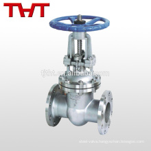 stainless steel 316 bells gate valve for water supply